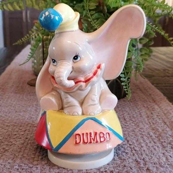 Vintage Dumbo Disney music box